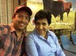 con Hilda Corral, gerente de la Asociacion Brangus Mexicana