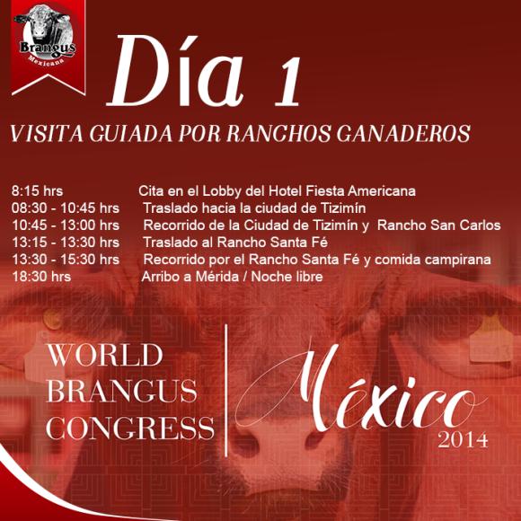 lunes 10 de noviembre 2014 congreso mundial brangus dia1